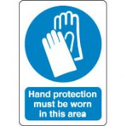 Mandatory Safety Sign - Hand Protection 073